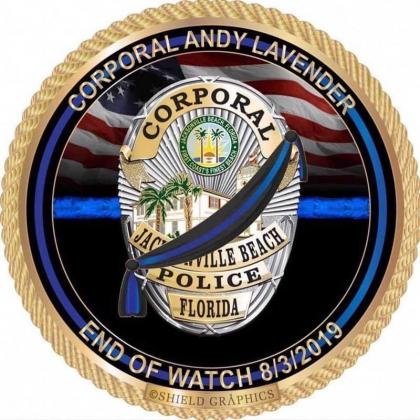 End of Watch for Cpl. Andy Lavender.