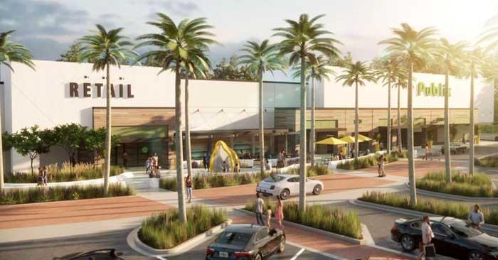 Renderings have been submitted by Publix for consideration of an additional store at the former Lucky's Market location in Neptune Beach. (photo submitted)
