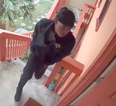 The Neptune Beach Police Department is actively looking for this suspect regarding the shooting at Park Place Apartments. (photo submitted by the Neptune Beach Police Department)