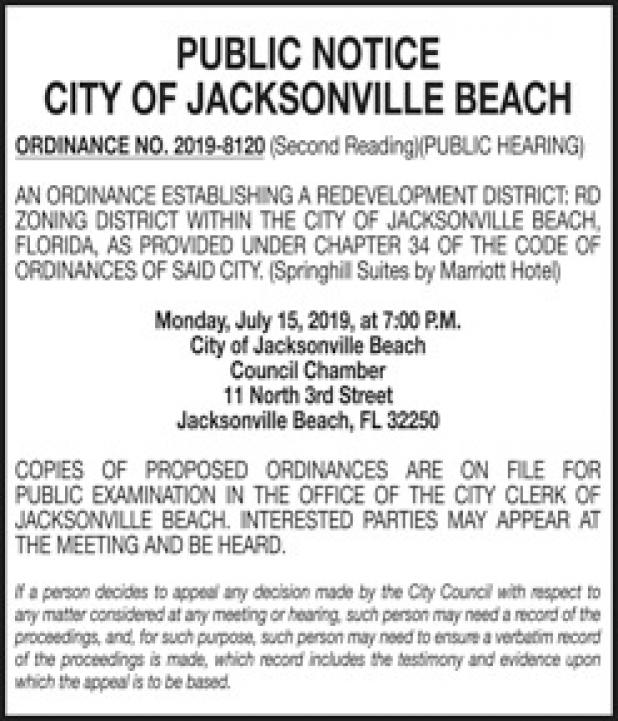 Legals | The Beaches Leader, Ponte Vedra Leader