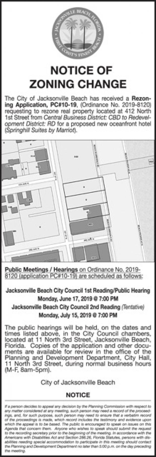 county jacksonville legal property public record